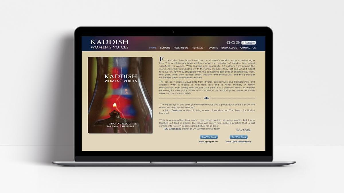 Woland Web Portfolio - Kadish Voices