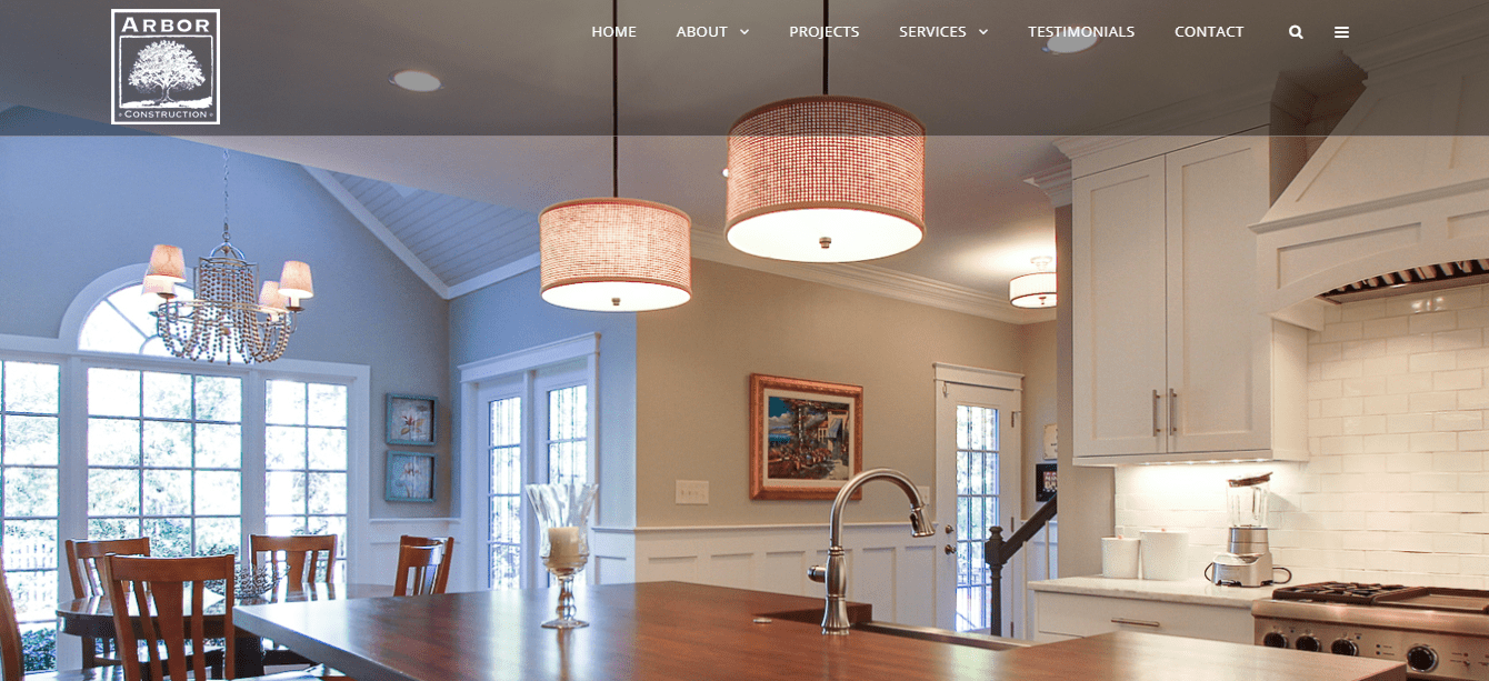 arbor construction client spotlight Woland Web