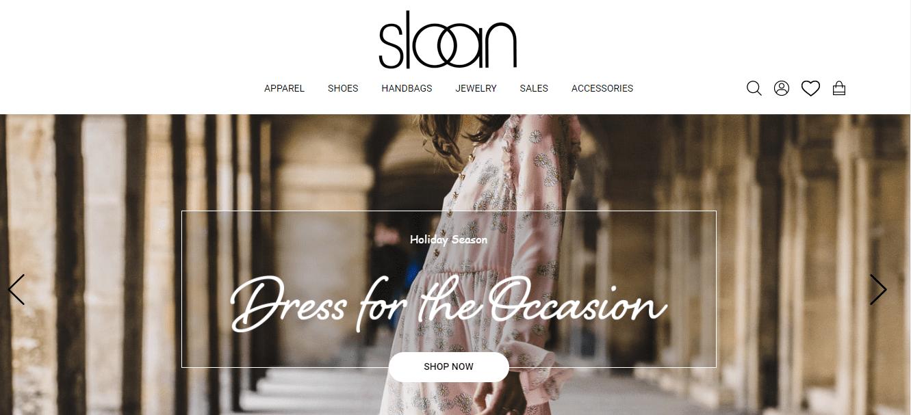 woland web client spotlight sloan boutique charlotte, nc