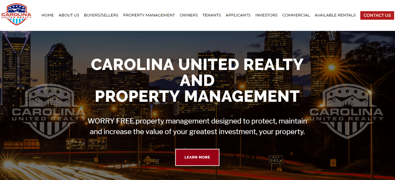 carolina united realty charlotte