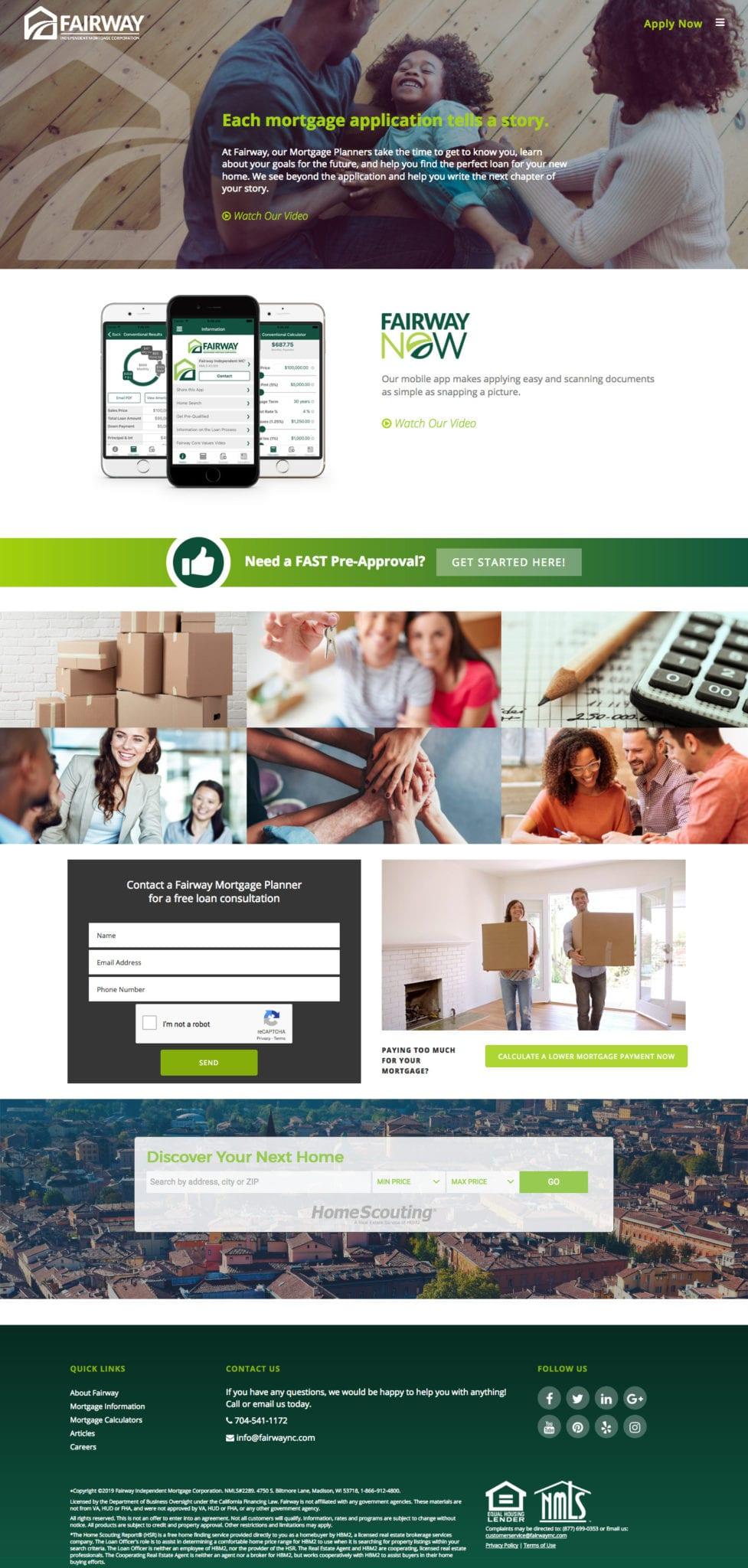 Woland Web | Fairway Branch Site