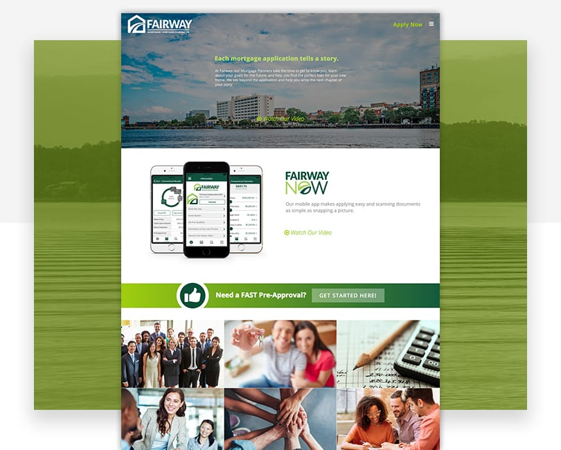 Woland Web Portfolio | Fairway Branch Sites