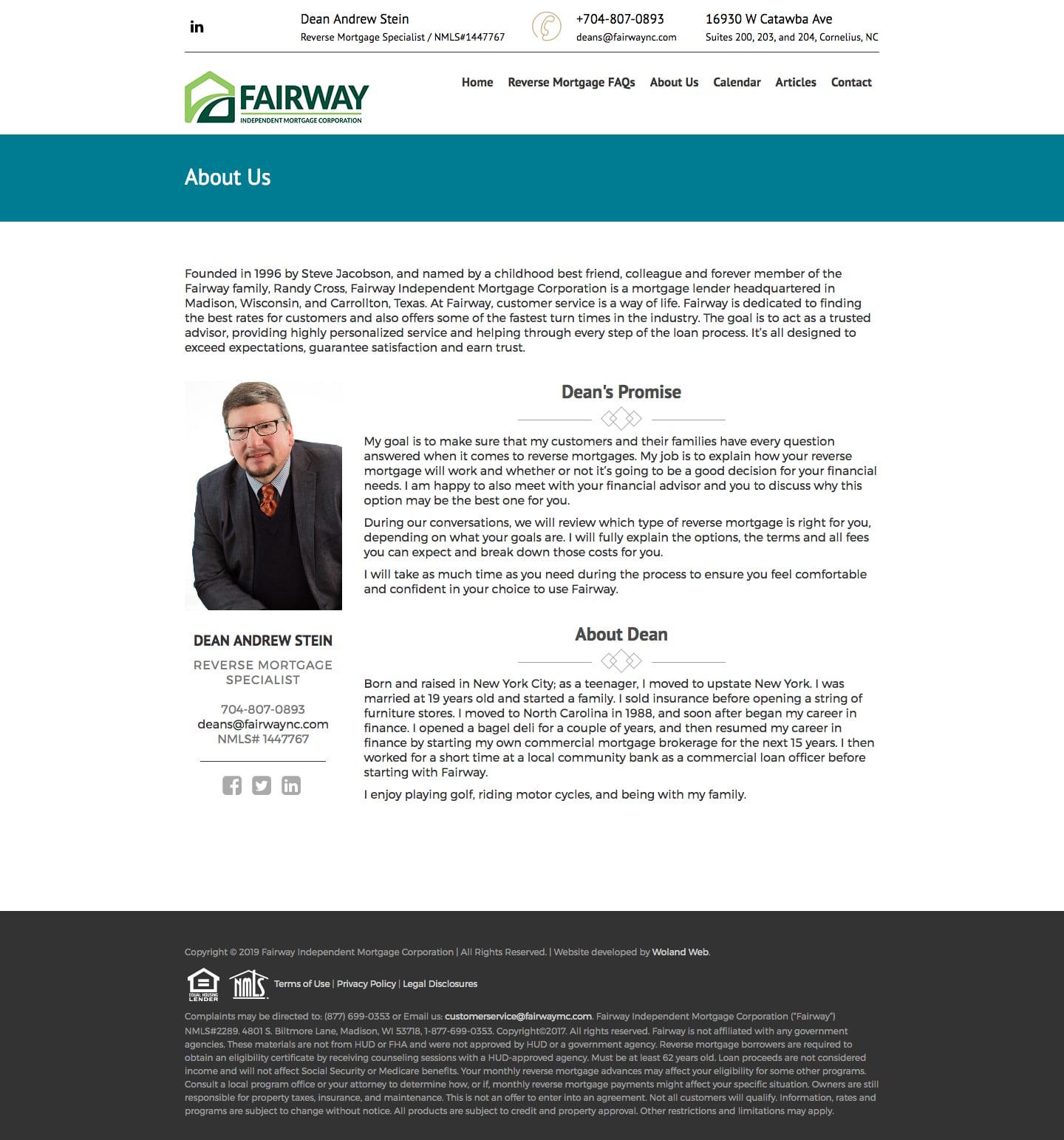 Woland Web | Fairway Reverse Mortgage