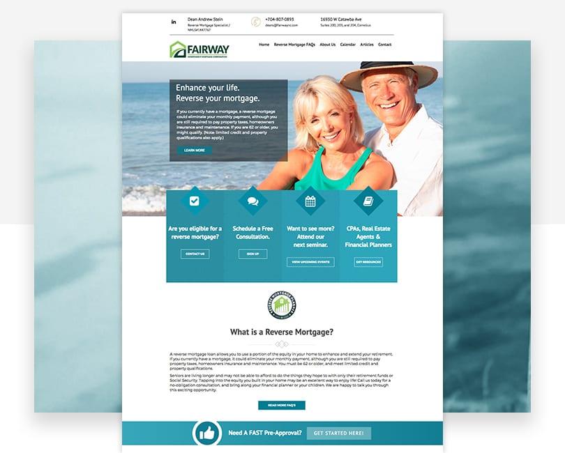 Woland Web Portfolio | Fairway Reverse Mortgage