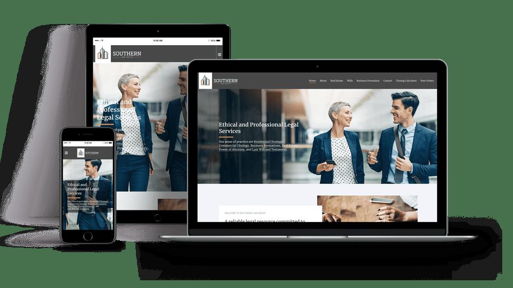 Woland Web   Legal Firm Web Design