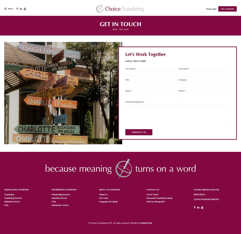 Choice Translating - Woland Web
