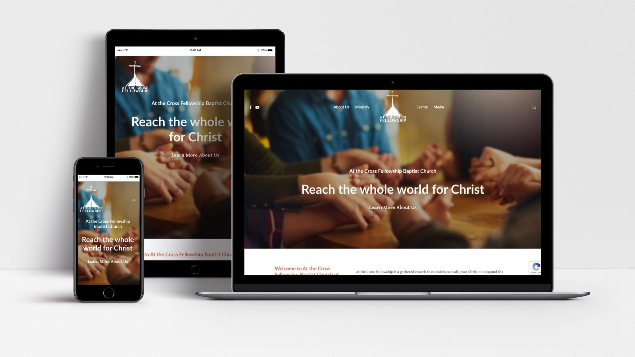 Woland Web client at the cross