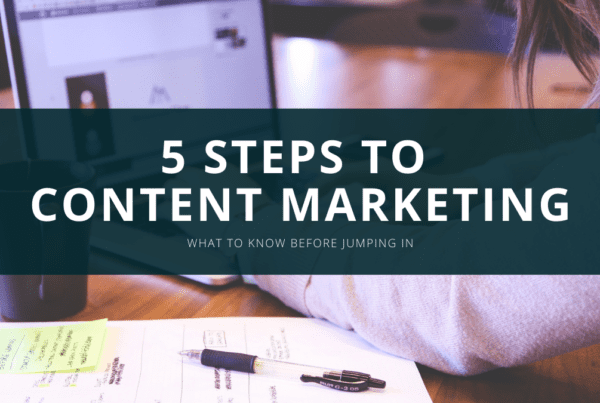 5 steps to content marketing charlotte